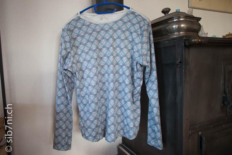 low priced 4d726 588f7 Kuscheliger Schlafanzug in Eisblau und Grau - Sib7ni ...